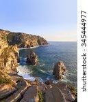 Rocks Of Cabo Da Roca Coast In...