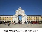 lisbon portugal november 06 ...   Shutterstock . vector #345454247