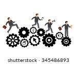 conceptual web illustration of...   Shutterstock .eps vector #345486893