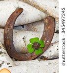 Horseshoe And Four Leaf Clover...