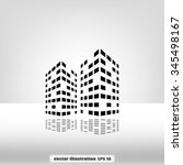 building two | Shutterstock .eps vector #345498167