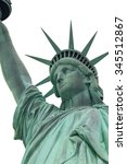 Head Of Lady Liberty In New...