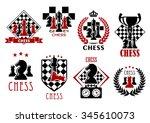 Chess Game Heraldic Symbols Of...