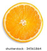 slice of orange | Shutterstock . vector #34561864