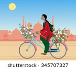 a vector illustration in eps 10 ... | Shutterstock .eps vector #345707327