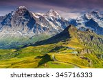 Stunning Alpine Panorama With...