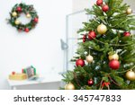 Decorated Christmas Tree In...