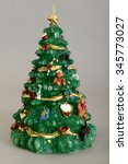 christmas crib. adoration of... | Shutterstock . vector #345773027