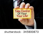 Take Control Of Your Life  Car...