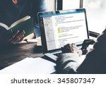 php programming html coding... | Shutterstock . vector #345807347