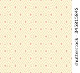 geometric vector colored... | Shutterstock .eps vector #345815843
