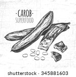 Carob Pods. Used For The...