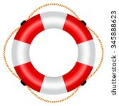 Life Raft Icon  Vector...