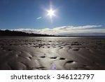 amazing beach on the ocean.... | Shutterstock . vector #346122797
