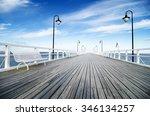 Wooden Pier In Gdynia   Orlowo...