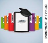 books step education...   Shutterstock .eps vector #346144883