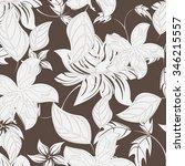 seamless flower background  ... | Shutterstock .eps vector #346215557