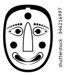 black and white drawing of a...   Shutterstock .eps vector #346216997