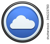 cloud button | Shutterstock .eps vector #346223783