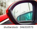 blind spot monitoring system... | Shutterstock . vector #346310573