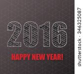 new year background with... | Shutterstock .eps vector #346325087