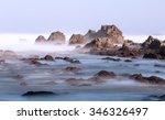 coastline cliff in asturies...   Shutterstock . vector #346326497