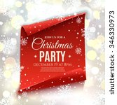 Christmas Party Invitation. Re...