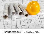 architectural project | Shutterstock . vector #346372703
