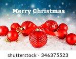 christmas background | Shutterstock . vector #346375523