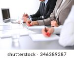 group of business people... | Shutterstock . vector #346389287