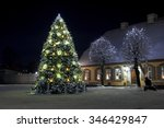 a beautifully decorated... | Shutterstock . vector #346429847