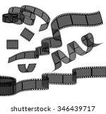 set of film reel. vector | Shutterstock .eps vector #346439717