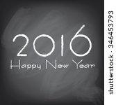new year banner background.... | Shutterstock .eps vector #346453793
