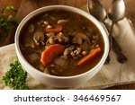 Homemade Mushroom Barley Soup...