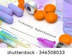 pulmonary hypertension  ...   Shutterstock . vector #346508033