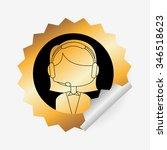 customer service design  vector ...   Shutterstock .eps vector #346518623