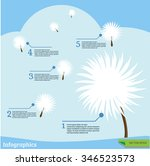 infographic for diverse... | Shutterstock .eps vector #346523573