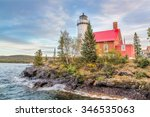 The Eagle Harbor Light  Perche...
