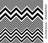 seamless zigzag pattern.... | Shutterstock .eps vector #346669463