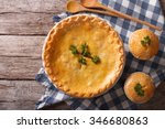 American Chicken Pot Pie In Th...