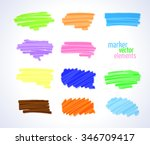 vector illustration. multi... | Shutterstock .eps vector #346709417