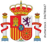 spain coat of arm | Shutterstock .eps vector #346780667