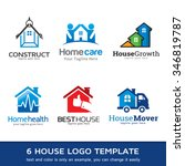 house business logo template... | Shutterstock .eps vector #346819787