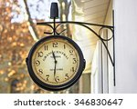 Old Retro Clock Of Grand...