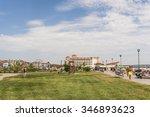 obzor  bulgaria   aug 10  2015  ... | Shutterstock . vector #346893623