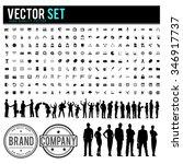 vector business people... | Shutterstock .eps vector #346917737