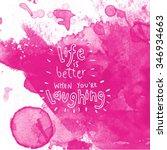 inspirational typographic quote ... | Shutterstock . vector #346934663