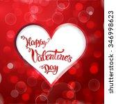 heart and original hand... | Shutterstock . vector #346998623