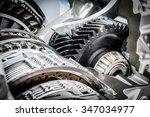 car engine part | Shutterstock . vector #347034977