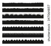 monochrome isolated break... | Shutterstock .eps vector #347064857